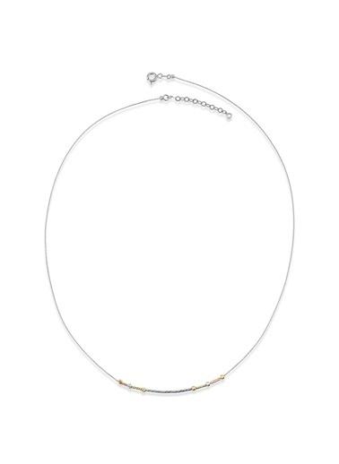 Piano Jewellery Cabaret Mini Shine Altın Kolye 14 Ayar Gümüş